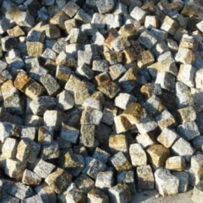 Kostka granitowa szaro ruda Piotrków Trybunalski