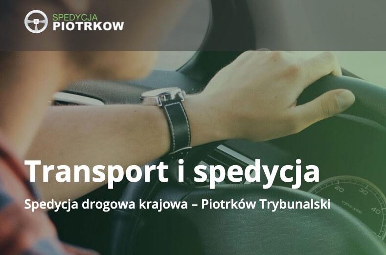 spedycjapiotrkow.pl - Transport i spedycja Piotrków Trybunalski