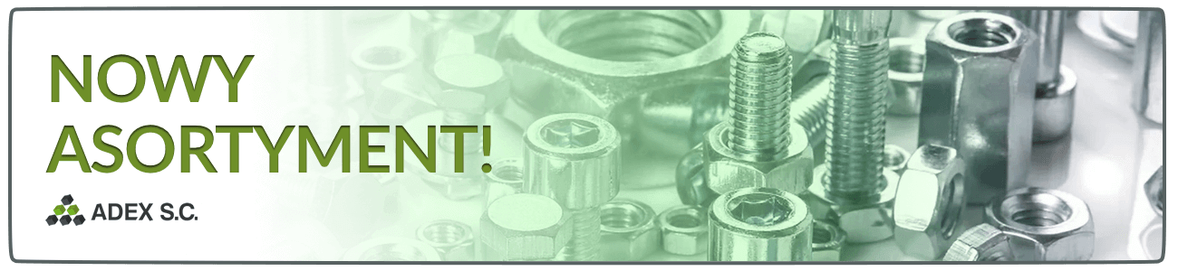 Produkty złączne śruby wkręty stal nierdzewna